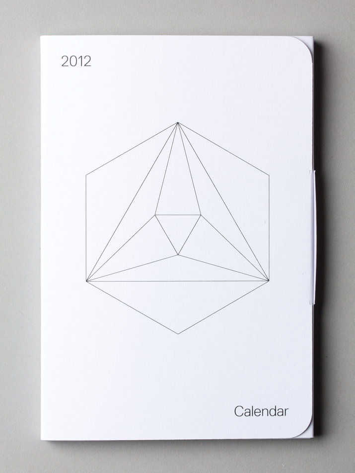 2012 calendar (Self initiated, Packaging) by Lo Siento Studio, Barcelona