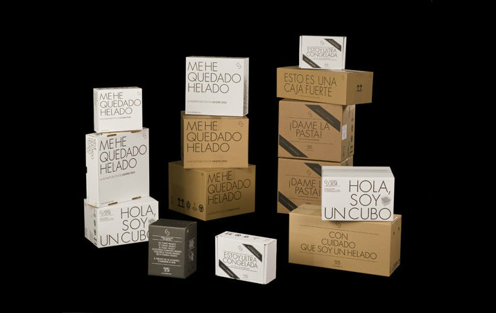 Sandro Desii (Packaging, Identity) by Lo Siento Studio, Barcelona