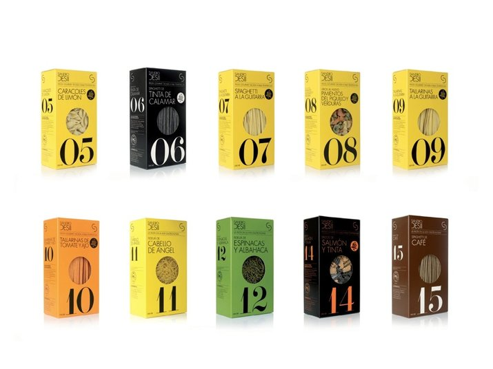 Sandro Desii | Pasta (Packaging, Identity) by Lo Siento Studio, Barcelona