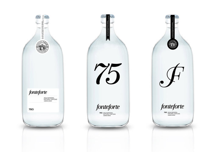 Fonteforte / Lanjaron (Packaging, Identity) by Lo Siento Studio, Barcelona