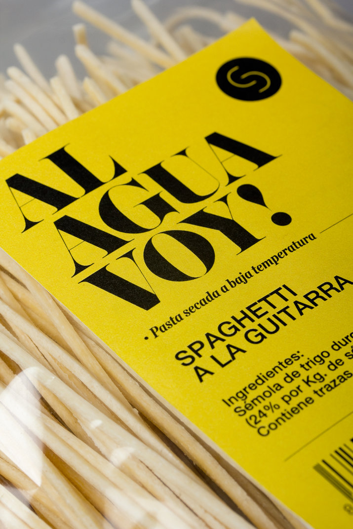 Sandro Desii | Dried pasta (Identity, Print, Packaging) by Lo Siento Studio, Barcelona