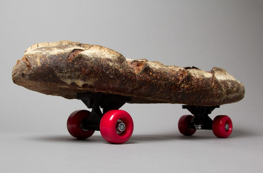 Skate or Bread by Triticum (Print) by Lo Siento Studio, Barcelona