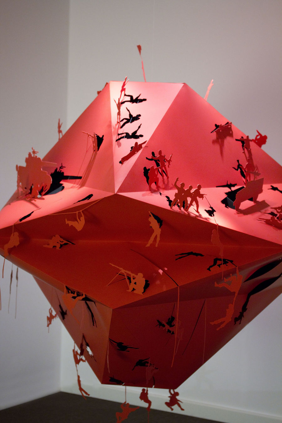 RED BATTLE (Exhibitions) by Lo Siento Studio, Barcelona