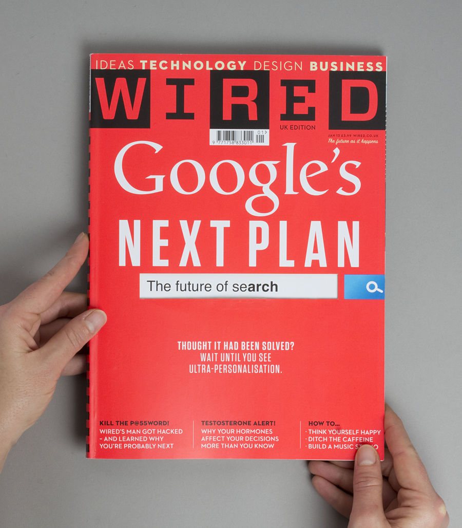 WIRED Magazine Features cover (Talks & Interviews) by Lo Siento Studio, Barcelona