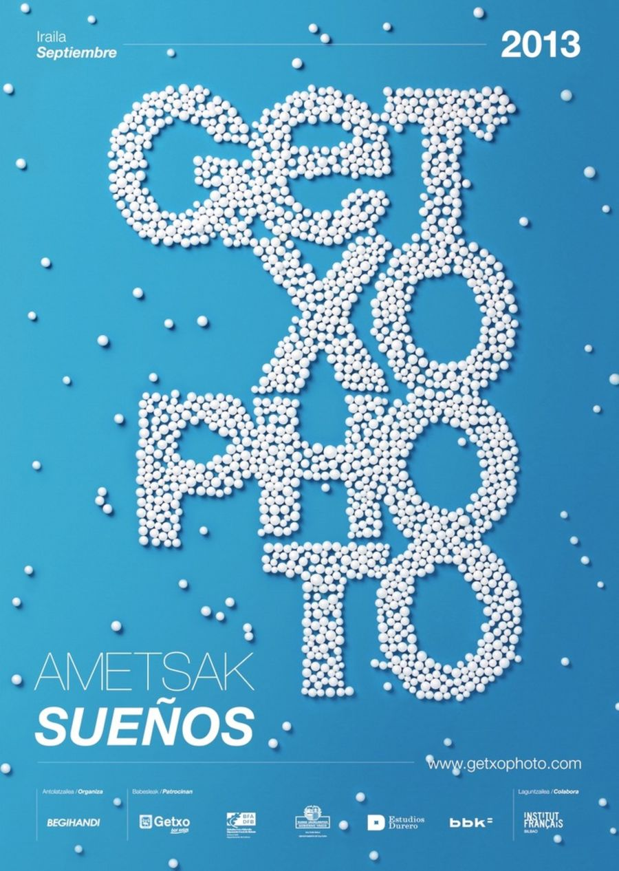 GETXO Photo 2013 (Identity, Editorial, Lettering, Web) by Lo Siento Studio, Barcelona