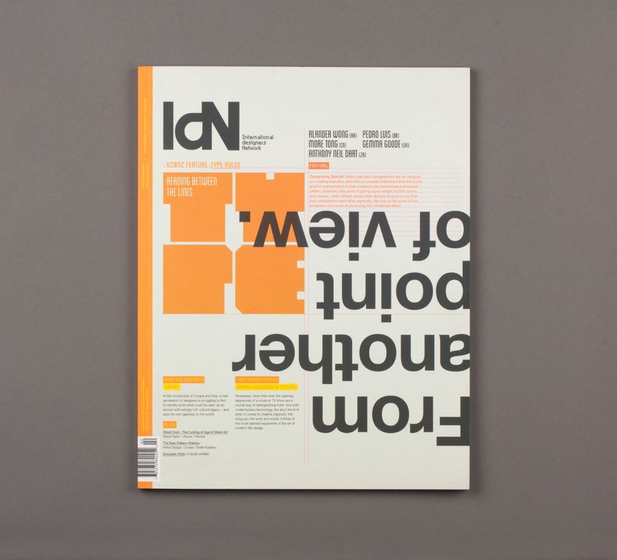 IDN magazine (Talks & Interviews) by Lo Siento Studio, Barcelona