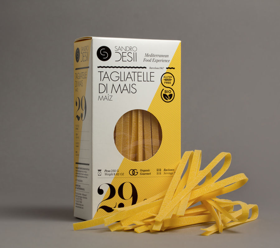 SD Gluten free packs (Packaging) by Lo Siento Studio, Barcelona