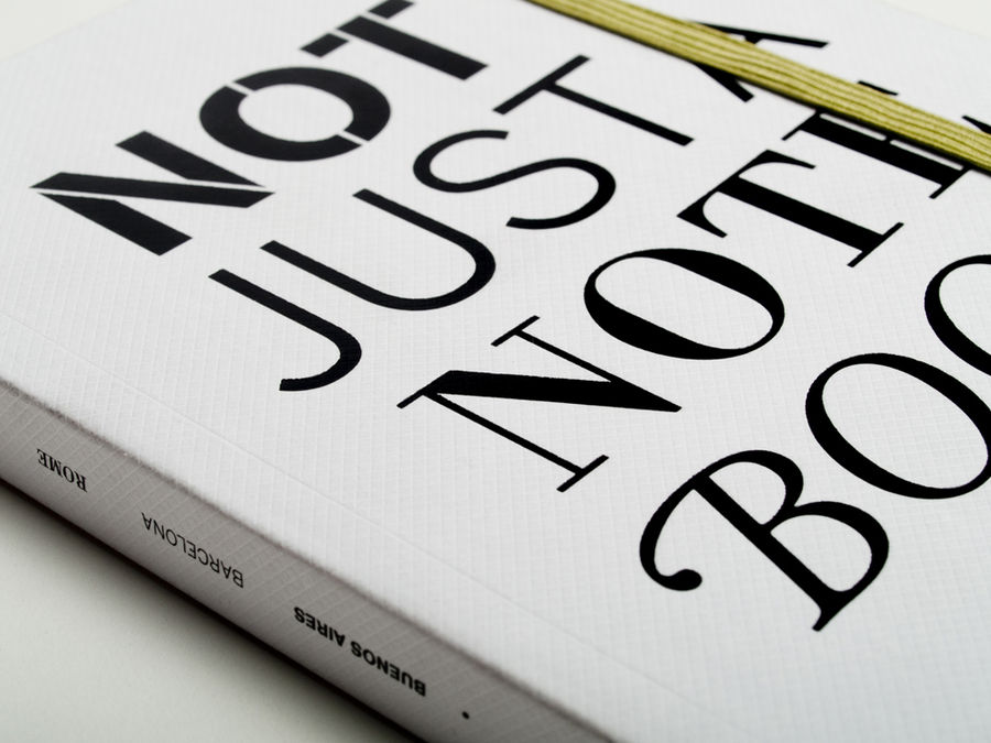 Not just a notebook (Print, Editorial) by Lo Siento Studio, Barcelona